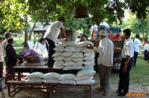 Journée de scolarisation de l'ONG AVEC au Cambodge (Aide Volontaire aux Enfants Cambodge).